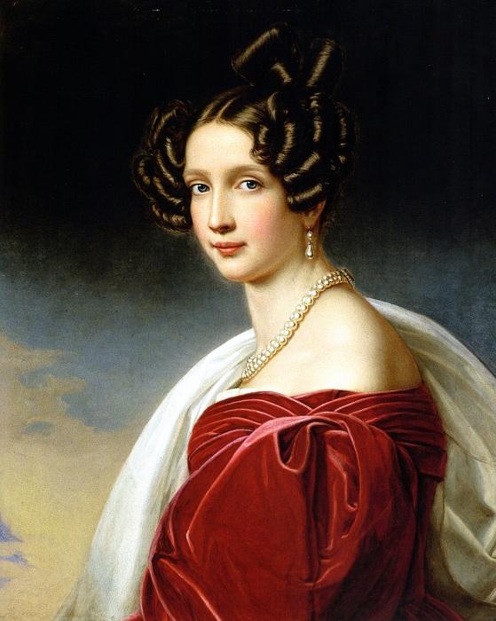 София Баварская - эрцгерцогиня Австрии, 1832 год. | Фото: ru.wikipedia.org.