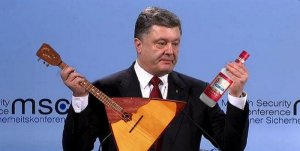 "Петр Порошенко снова ""налегает"" на слова"