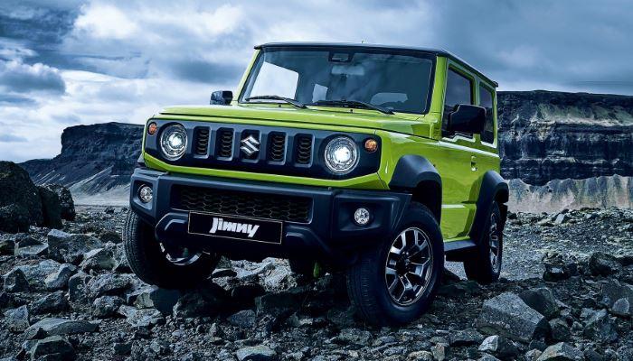 Объявлены комплектации нового Suzuki Jimny для России