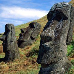 ЭКСКУРСИОН. У каменных голов острова Пасхи есть туловища