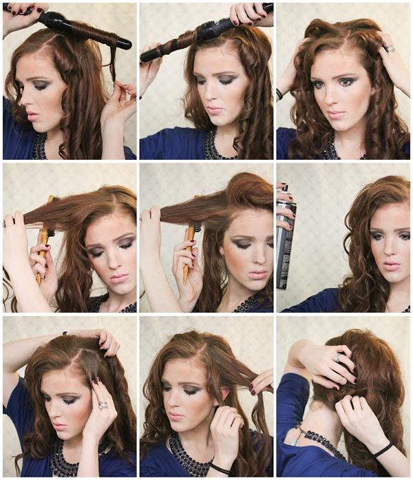 Причёски для выпускного своими руками поэтапно