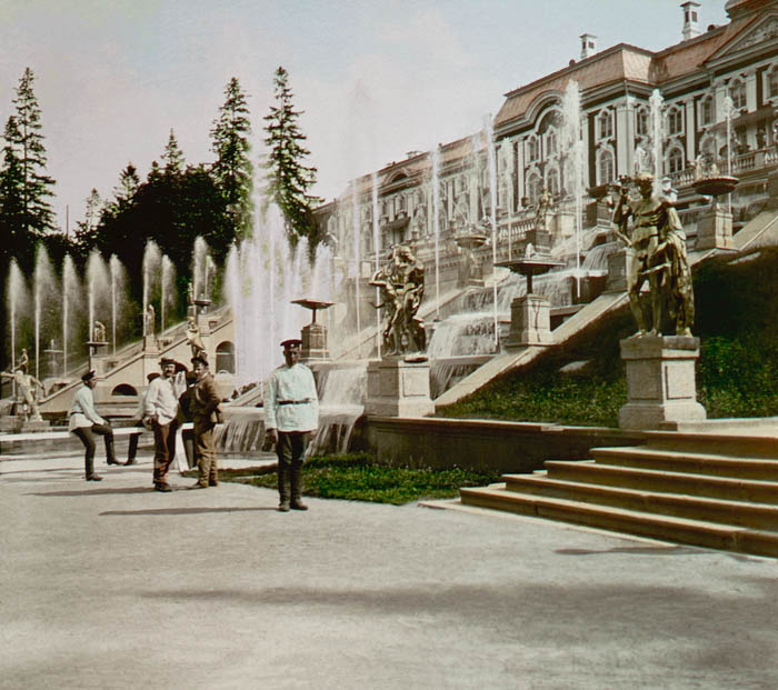 Дореволюционная Россия 1896 года на цветных фотографиях Франтишека Кратки