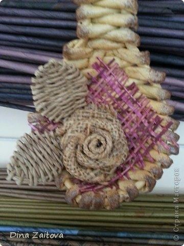 Плетение из газет. Декоративные ложки для украшения кухни (3) (360x480, 100Kb)