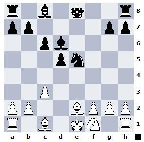 Продолжение темы варианта Тарраша во Французской защите 1.e4 e6 2.d4 d5 3.Nd2 Nc6 4.Ngf3 Nf6 5.e5 Nd7 6.c3