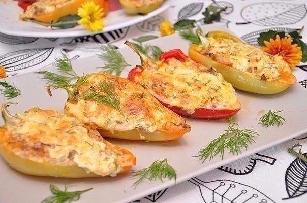 Курица в перце — очень красивое блюдо, необычное! Попробуйте приготовить!