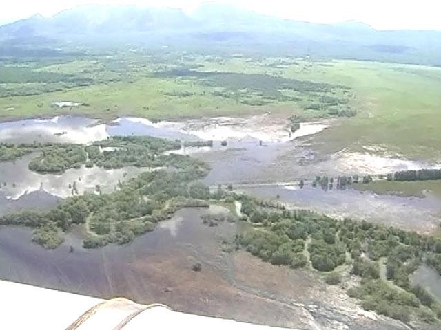 Наводнение на Камчатке.