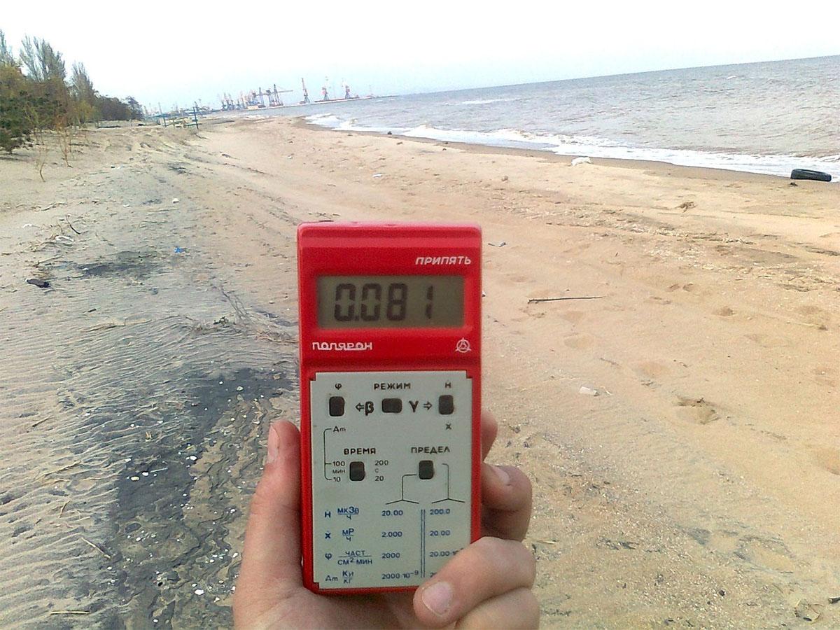Радиоактивные ториевые пески Азова