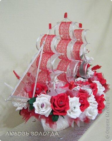 Свит-дизайн День рождения Моделирование конструирование Корабль мечты Бумага гофрированная Продукты пищевые фото 1