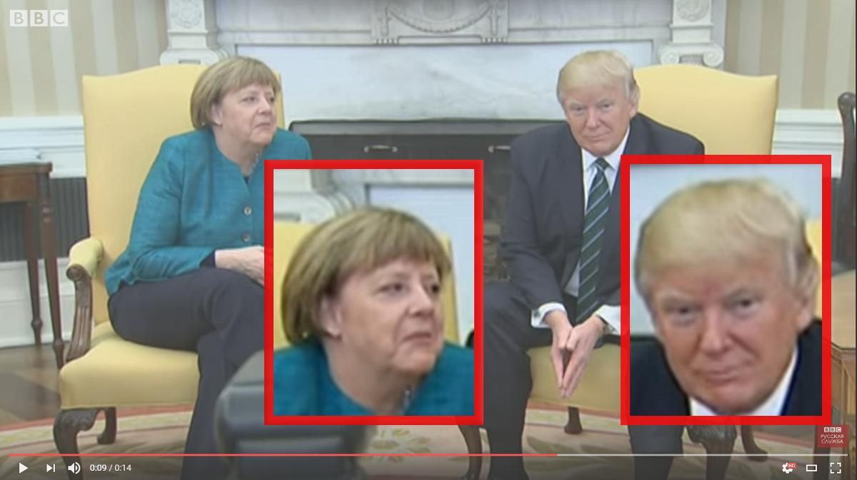 В Белом доме рассказали, почему Трамп отказался от рукопожатия с Меркель