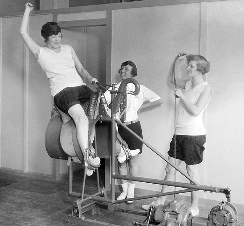 fitness08 Как выглядел фитнес начала ХХ века