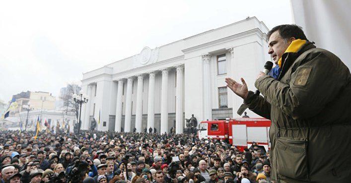 События на Украине развиваются по киргизскому сценарию.
