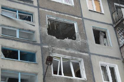 Число раненых в результате обстрела Донецка выросло до 10 человек