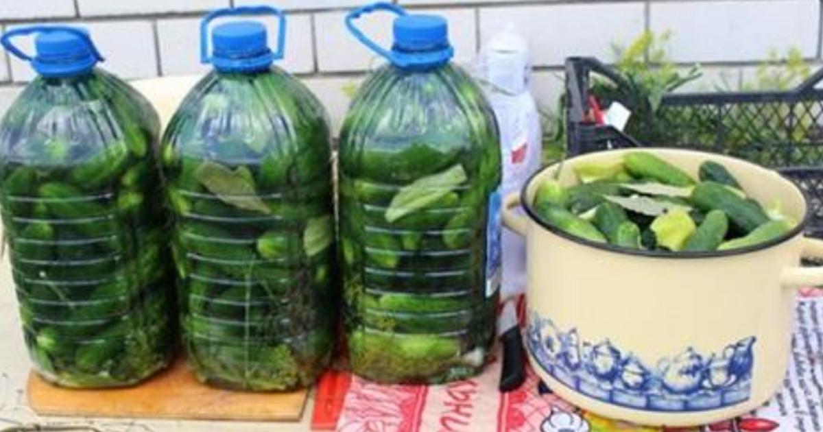 Солим огурчики в пластиковых бутылках! Получаются настоящие бочковые огурцы, потрясающе вкусно!
