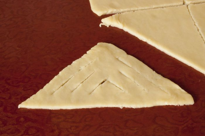 Рецепт печенья с яблоками и орехами