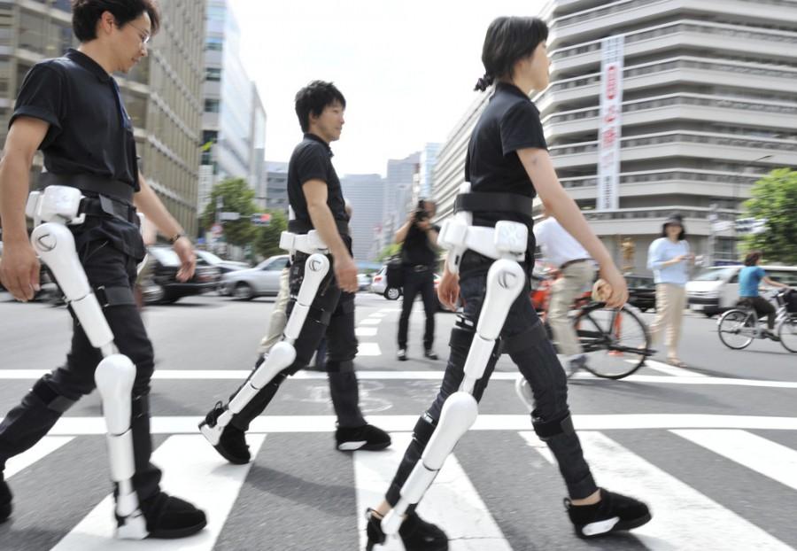 Роботизированный костюм, который может помочь пожилым людям и инвалидам