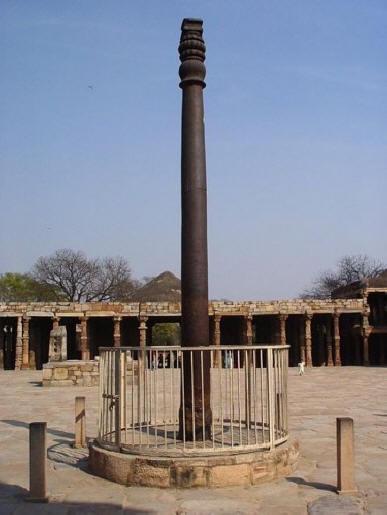 Удивительный железный столб в Индии