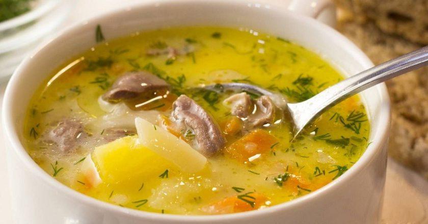 Сырный суп с сердечками: пальчики оближешь от такой вкуснятины!