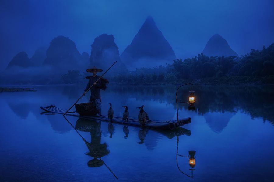 Riverof08 Красивые пейзажи китайской реки поэтов и художников