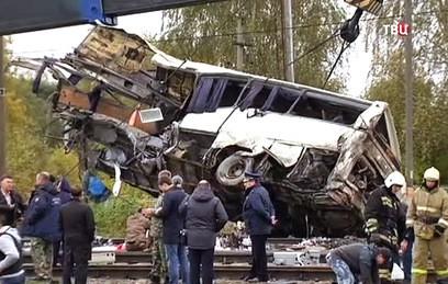 СК назвал основные версии катастрофы под Владимиром