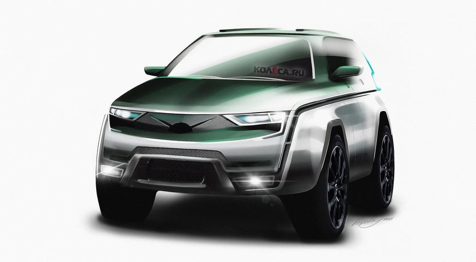 Совершенно новый кроссовер УАЗ: свежие данные