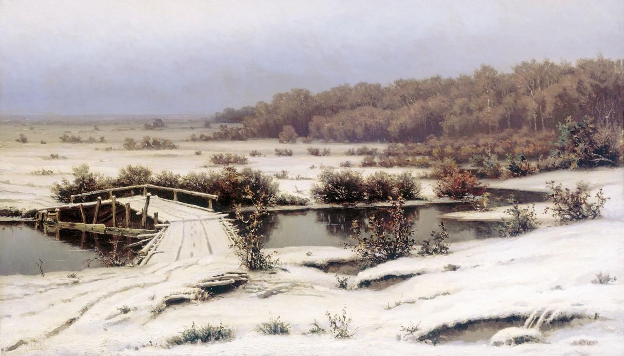 Волков Ефим Ефимович (1844-1920) - известный русский передвижник - пейзажист, посвятивший свое творчество главным образом воспеванию красоты природы северной и средней полосы России.
