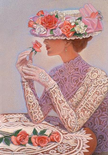 """""""Женщина... Небесное созданье..."""" Творчество художницы Sue Halstenberg"""