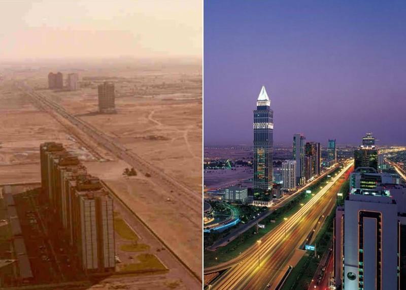 10 городов мира, которые изменились до неузнаваемости