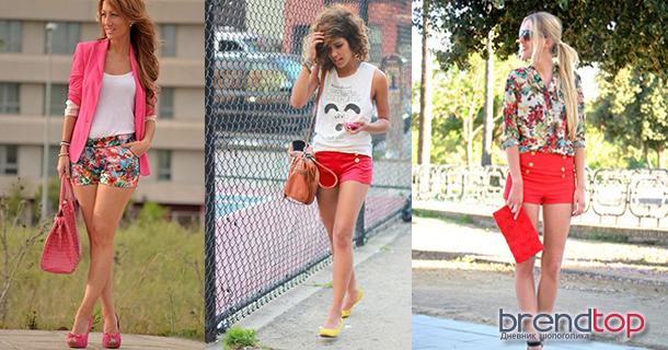 летние шорты женские тренд сезона
