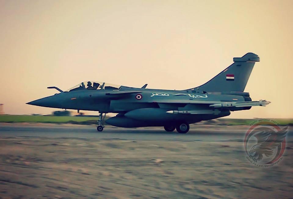 Франция снова приступает к переговорам с Египтом на продажу 12 дополнительных истребителей Rafale