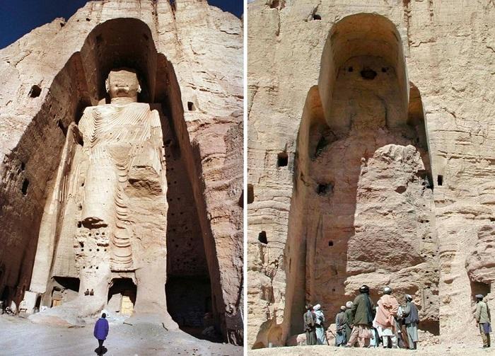 Поврежденные и уничтоженные культурные памятники
