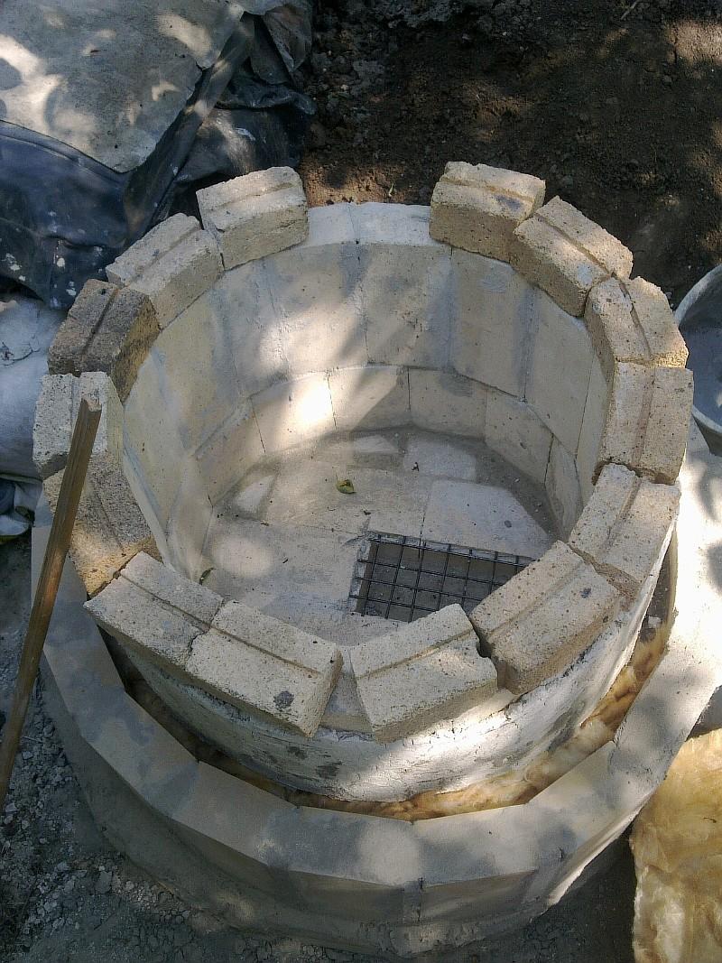 Фото 3 Нижняя часть тандыра закончена