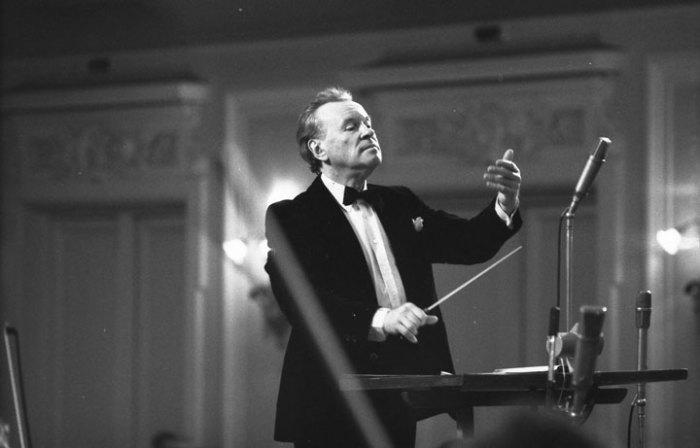 Евгений Светланов. / Фото: www.classicalmusicnews.ru