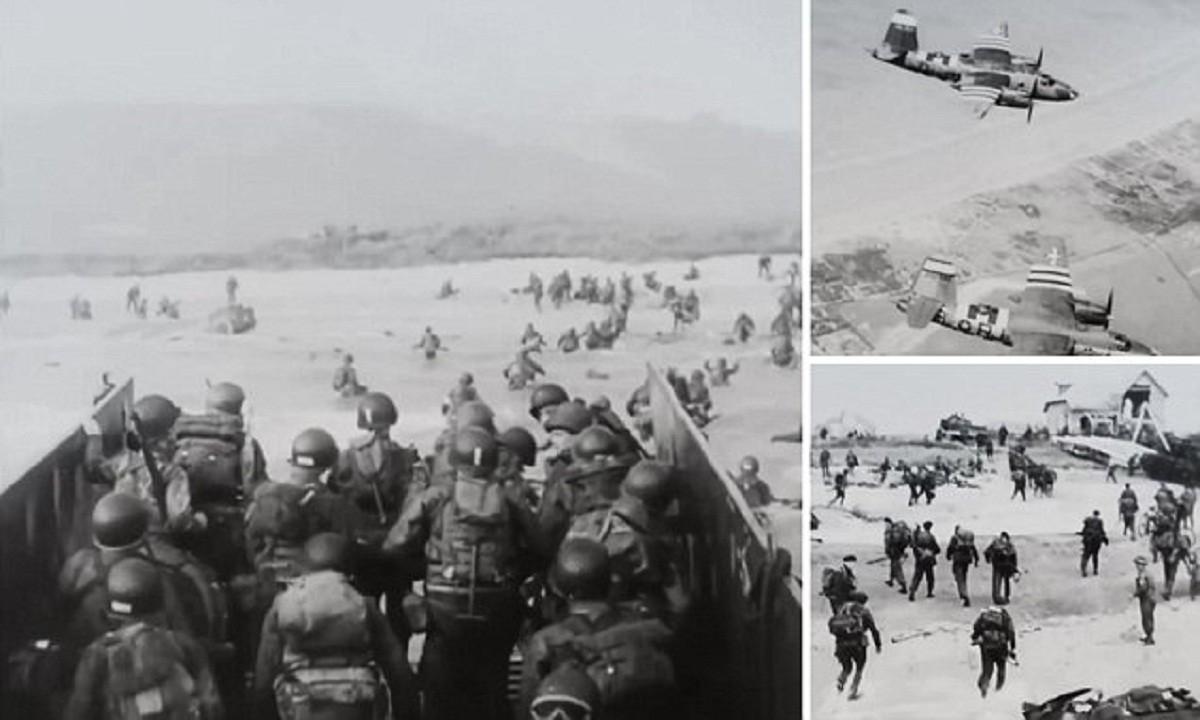 Найдена пропавшая пленка с уникальными кадрами высадки союзников в Нормандии