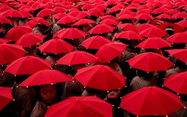 Красный и синий цвета контролируют жизнь человека