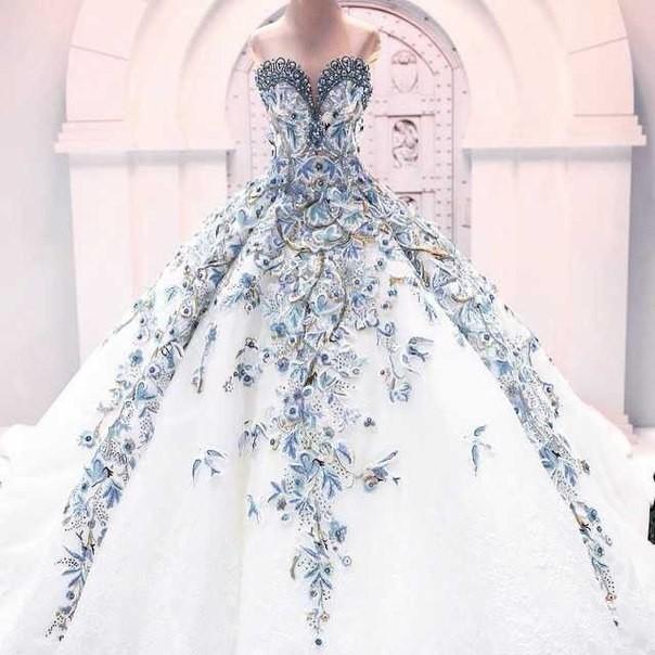 Самая дорогая свадебная платья в мире
