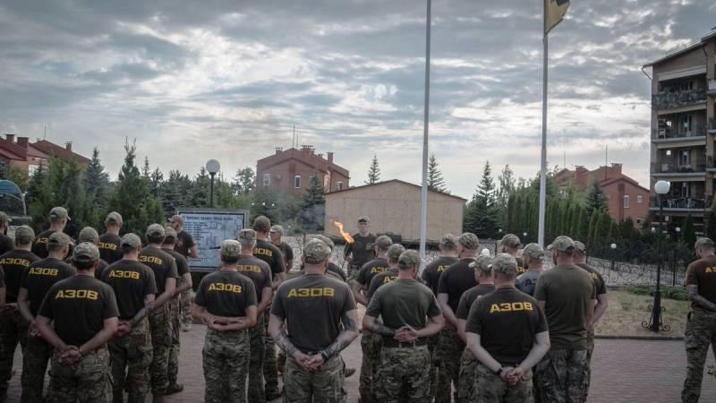 Украинских националистов возмутила публикация о полке «Азов»