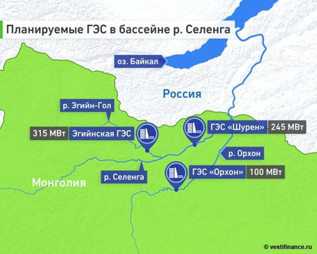 Восточноазиатское энергокольцо – реальная альтернатива монгольским ГЭС в Прибайкалье