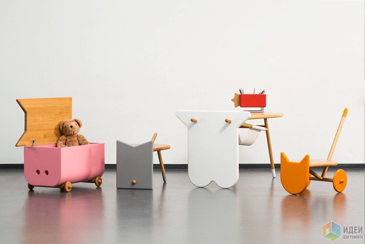 Детская мебель в форме животных