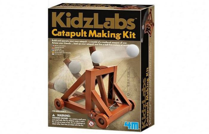 Миниатюрная катапульта Kidzlabs.