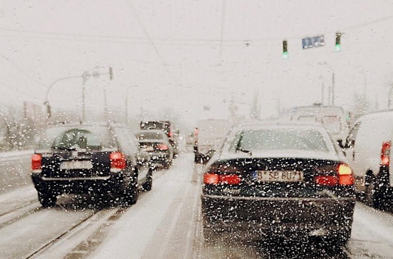 Путинская зима и тёплый киевский снег