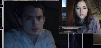 Elijah Wood Panics in Fast-Paced 'Open Windows' Web Thriller Trailer
