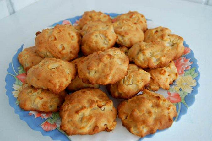 Яблочное печенье. Как приготовить печенье с яблоками