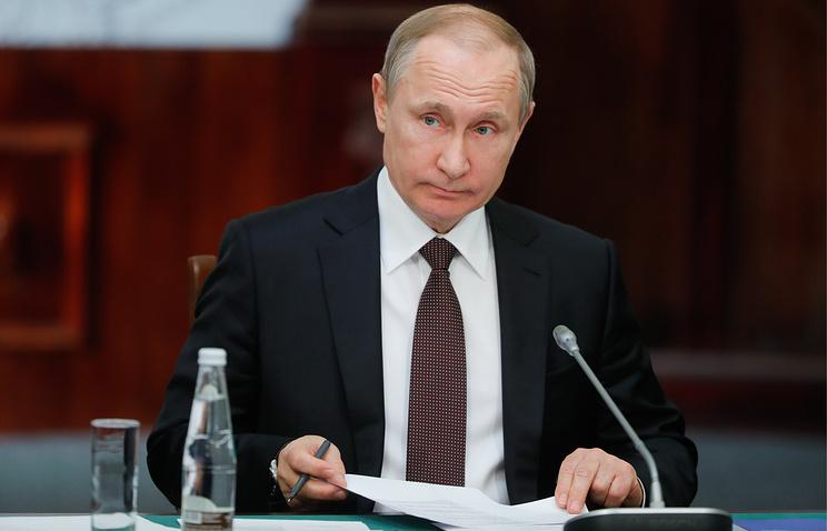 С тонким намёком: Путин приз…