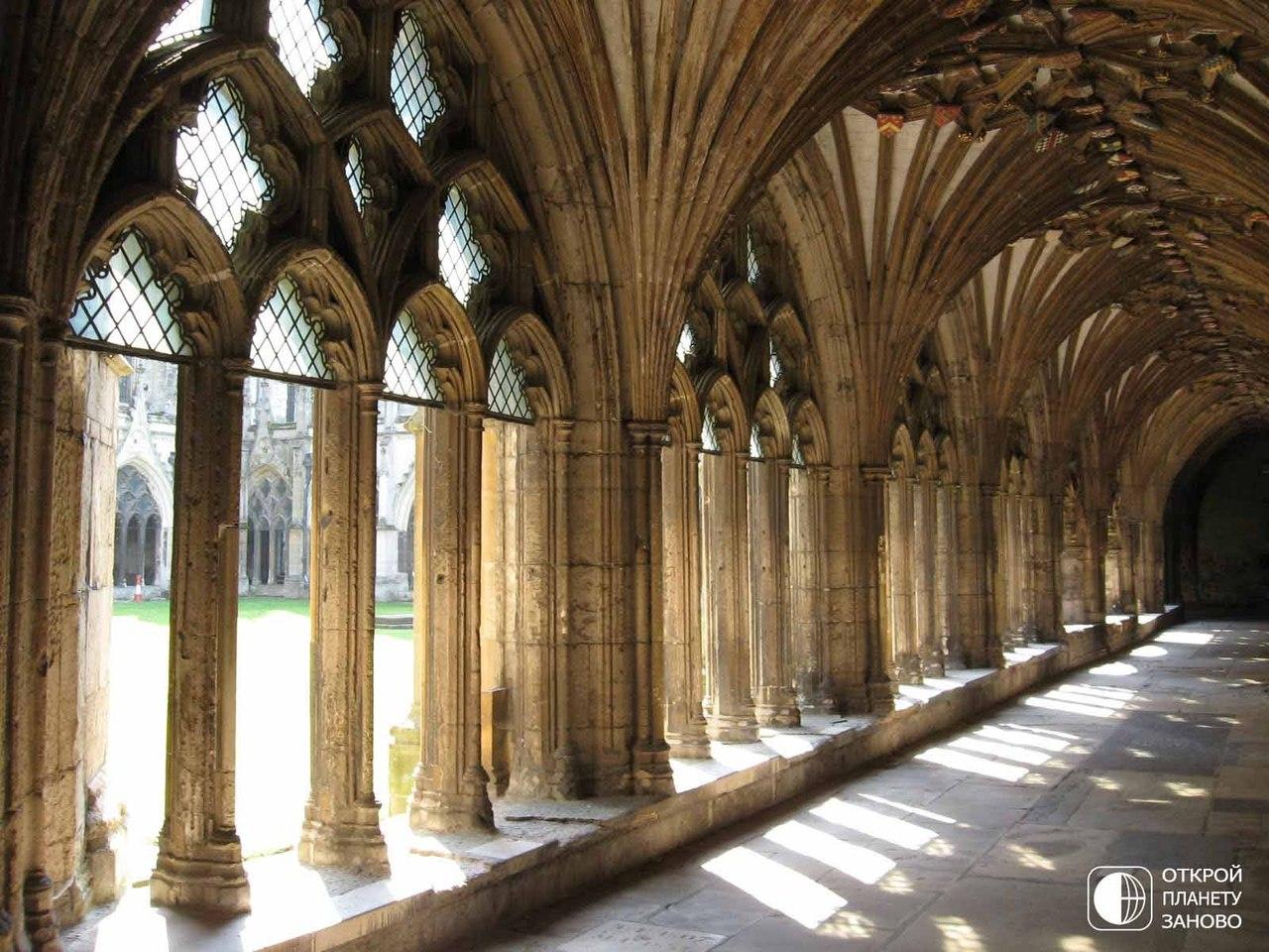 Готическая красота Кентерберийского собора