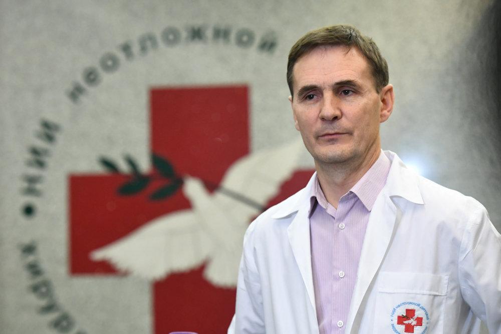 Хирург Митиш рассказал, как 11-месячный Ваня Фокин перенес перелет в Москву