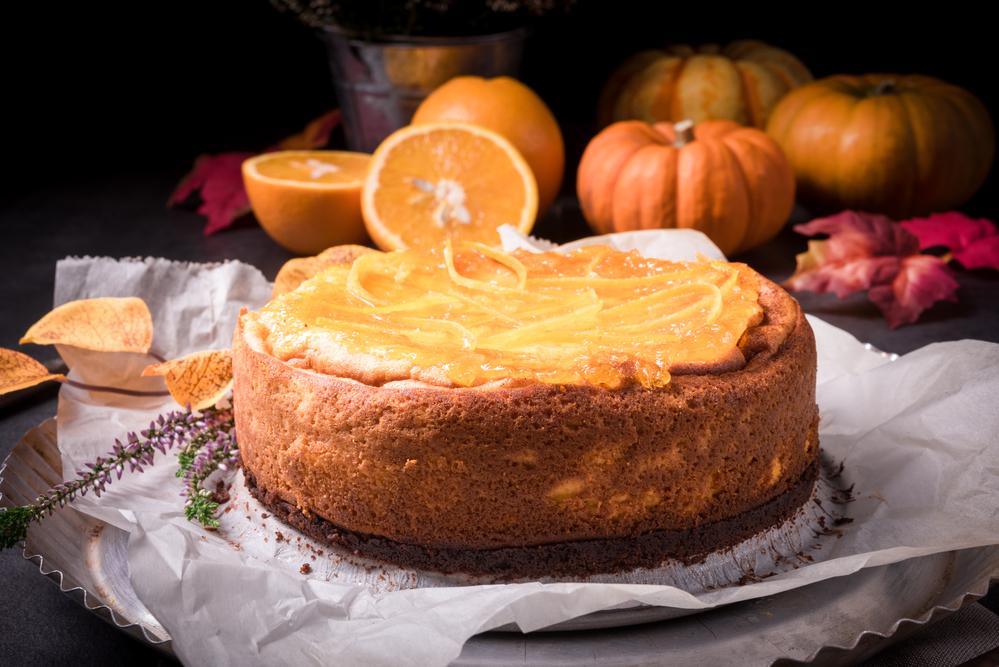 Мясной торт с тыквой
