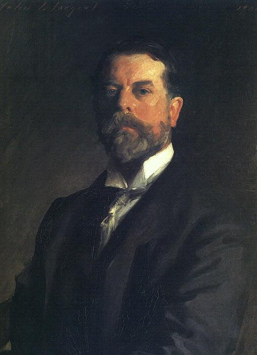 Американский художник известный мастер портрета Джон Сингер Сарджент / импрессионизм