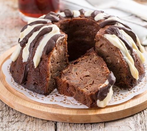 Яблочный пирог с какао/Фото: К. Виноградов/BurdaMedia