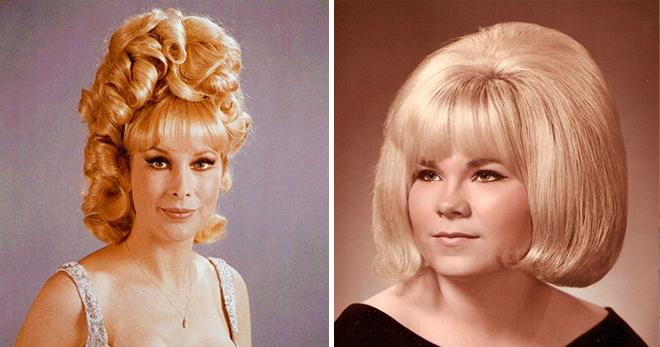 30 причин сказать «спасибо», что вашим волосам не пришлось пережить 1960-е годы!