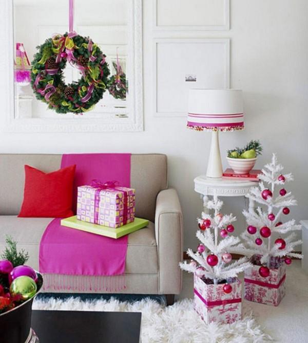 Украшение дома на Новый год 2015 фото